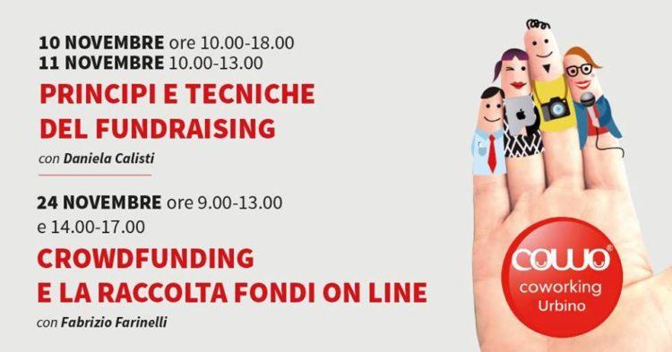 Al Coworking Urbino i corsi su fundraising e crowdfunding
