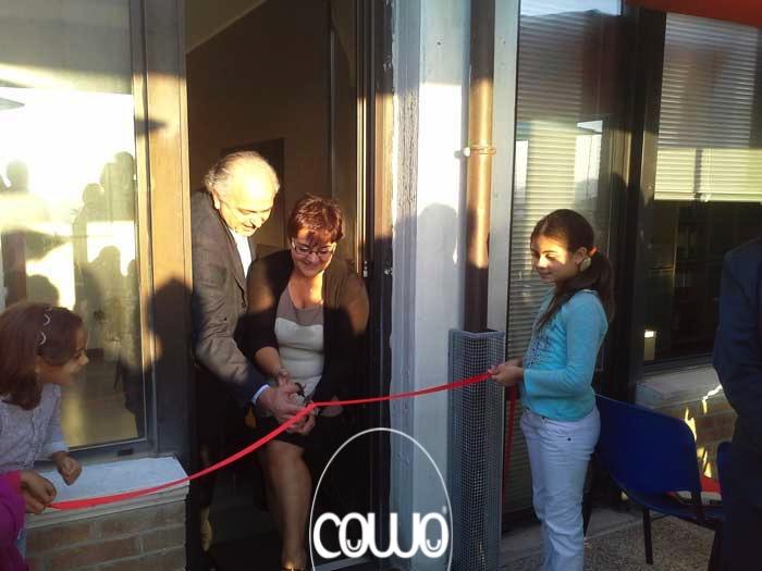 Inaugurazione del Coworking di Urbino con il Sindaco
