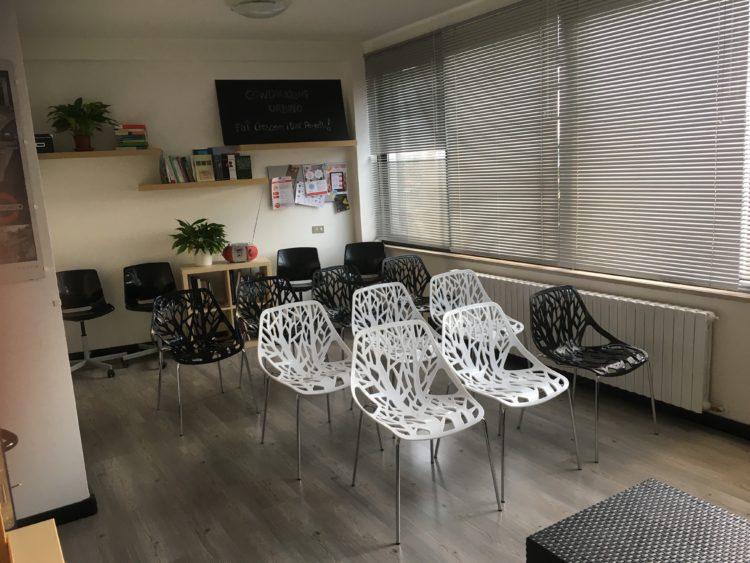 Sala formazione Urbino presso Coworking Cowo